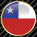 chile, chilean, chl icon
