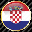 croatia, croatian, europe, european, hrv icon