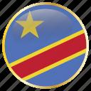 of, congo, republic, cod, congolese, the, democratic icon