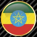 africa, african, birr, eth, ethiopia, ethiopian icon