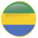 africa, african, central, cfa, gabon icon