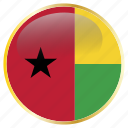 africa, african, bissau, gnb, guinea, west icon