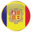 andora, country, flag, flags icon