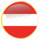 austria, country, flags icon