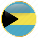 bahamas, country, flag, national icon
