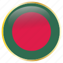 bangladesh, country, flag, flags icon
