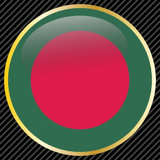 bangladesh, country, flag, flags icon