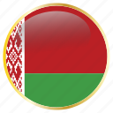 belarus, country, flags icon