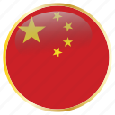 china, country, flags icon