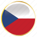 country, czech, flag, flags, holida, national, republic icon