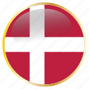 country, denmark, flag, flags, holida, national icon