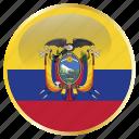 ecuador, equator, ikwadur icon