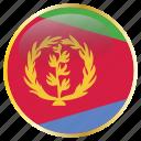 eritrea, flag
