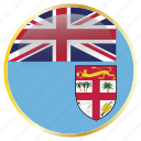 country, fiji, flag, flags icon