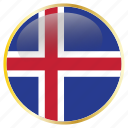 country, flags, holiday, iceland, national