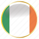 country, flag, flags, ireland, national icon