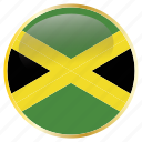 country, flag, jamaica, national icon