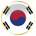 country, flags, korea, south icon