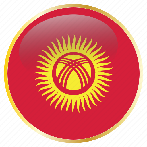 country, flags, kyrgyzstan icon