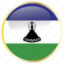 country, famous, lesotho, west, world icon