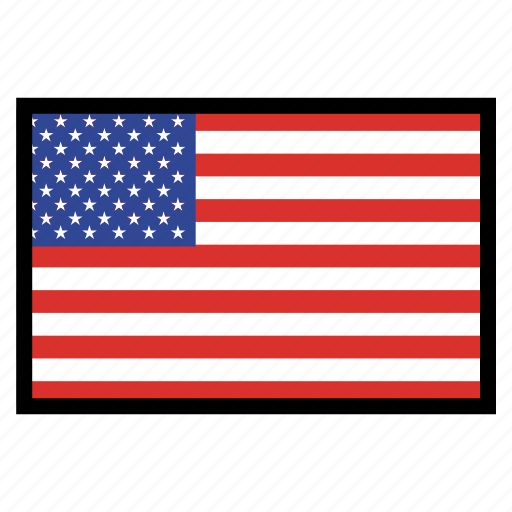 flag, flags, national, united states, world icon