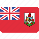 country, flag, bermuda, national
