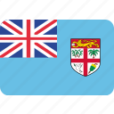 country, flag, fiji, national