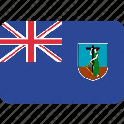 country, flag, montserrat icon