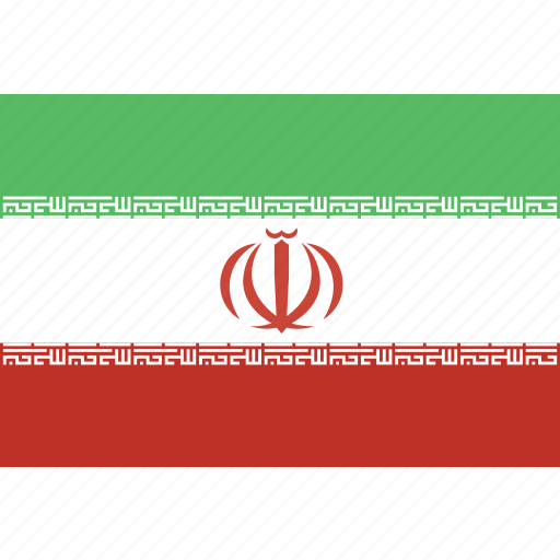 iran, rectangle icon