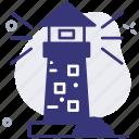 guide, lighthouse, navigation, tower, ocean