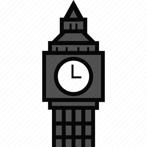 Architecture, big ben, big ben tower, clock, landmark icon - Download on Iconfinder