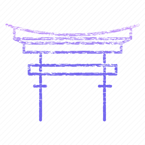 archaeological sites, famous, itsukuhima, landmark icon