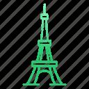 archaeological sites, famous, france, landmarks, paris