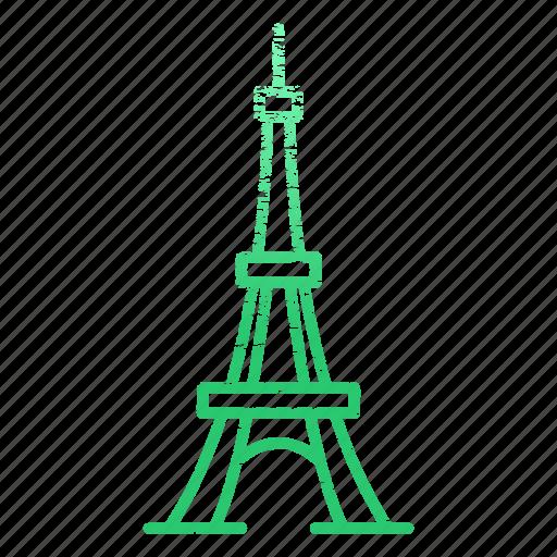 archaeological sites, famous, france, landmarks, paris icon