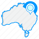 australiamaps, country, map, world icon