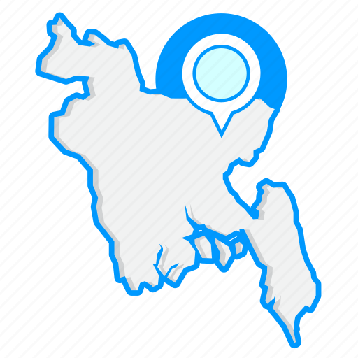 bangladeshmaps, country, map, world icon