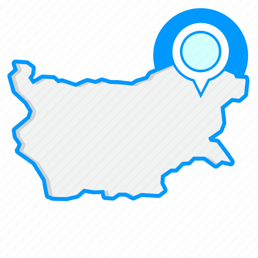 Bulgariamaps, country, map, world icon - Download on Iconfinder