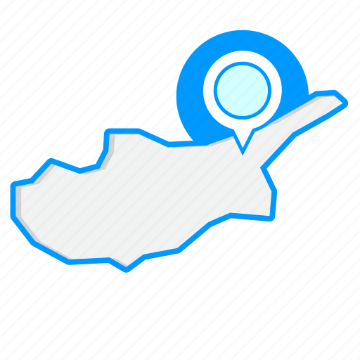 country, cyprusmaps, map, world icon