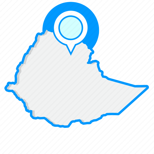 Country, ethiopiamaps, map, world icon - Download on Iconfinder