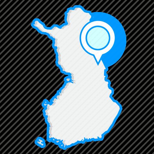 country, finlandmaps, map, world icon