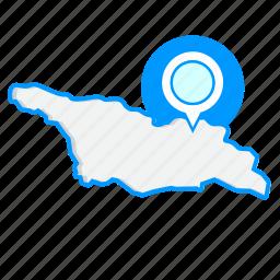 country, georgiamaps, map, world icon