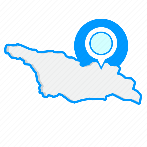 Country, georgiamaps, map, world icon - Download on Iconfinder