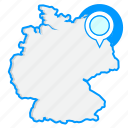 country, germanymaps, map, world icon