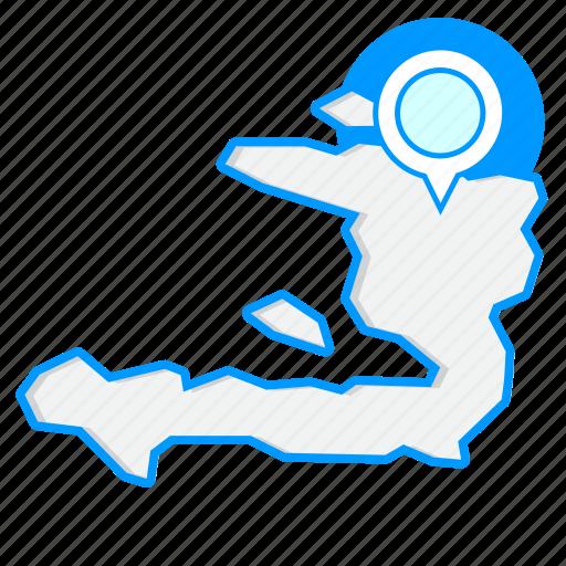 country, haitimaps, map, world icon