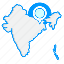 country, indiamaps, map, world icon