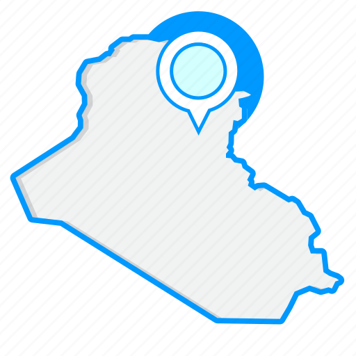 Country, iraqmaps, map, world icon - Download on Iconfinder