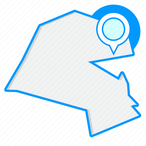 Country, kuwaitmaps, map, world icon - Download on Iconfinder
