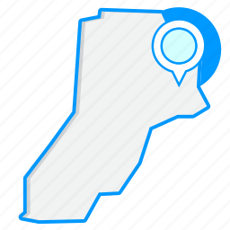 country, lebanonmaps, map, world icon