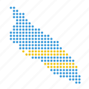 aruba, aruban, country, location, map icon