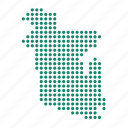 bangladesh, bangladeshi, country, location, map icon